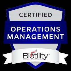 OM Certificate